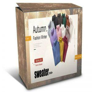 Louer votre boutique en ligne – Automne Hiver – pull col roulé