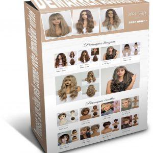 Louer votre boutique en ligne – Perruque synthétique – Cosplay wig