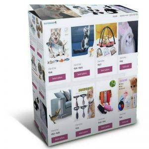 Louer votre boutique en ligne – accessoires pour chats – animalerie chat